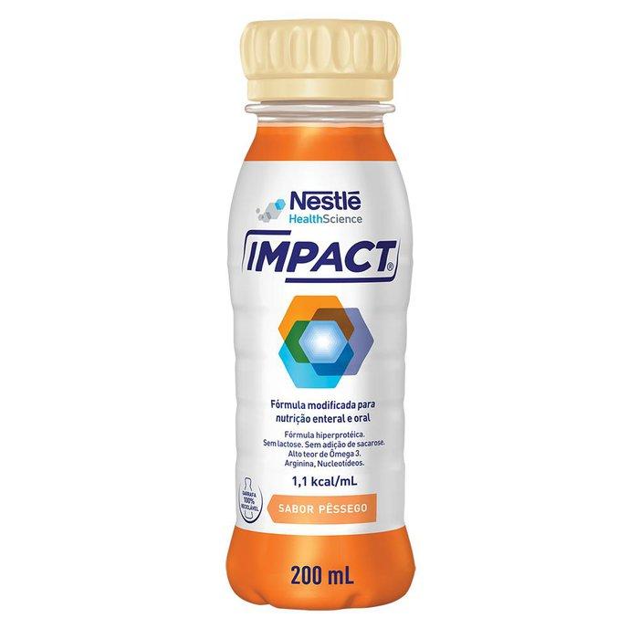 impact nestle pessego 200ml