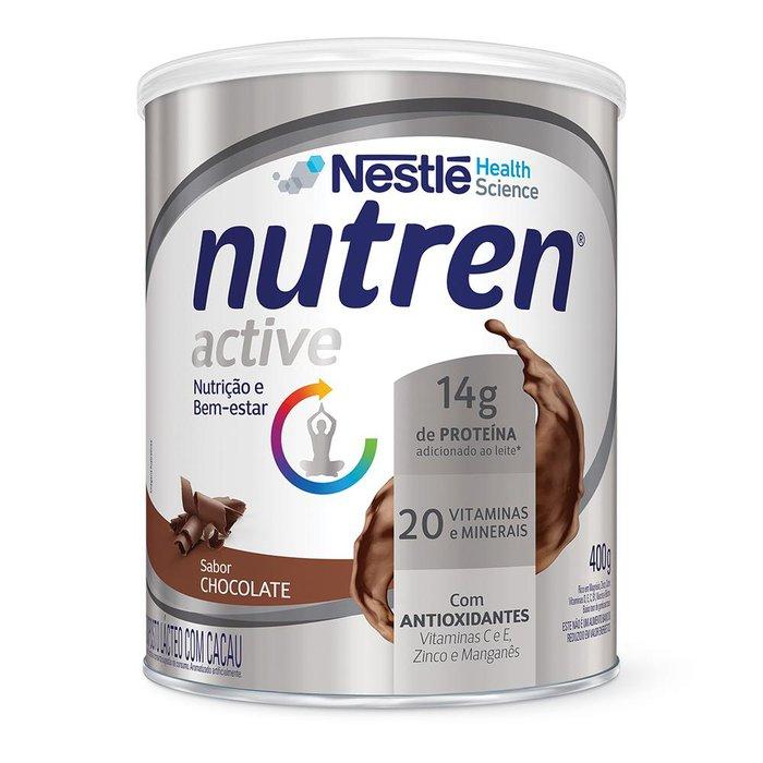 nutren active nestle chocolate 400g