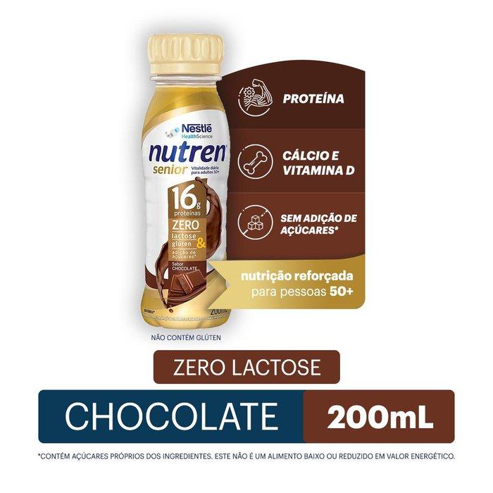nutren senior nestle chocolate 200ml