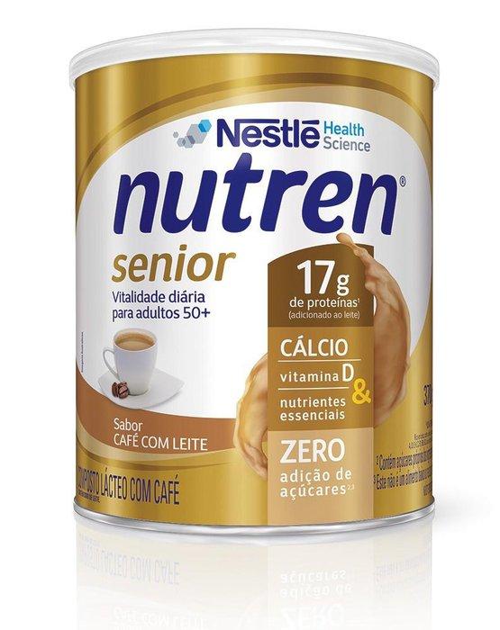 nutren senior nestle cafe com leite 370g