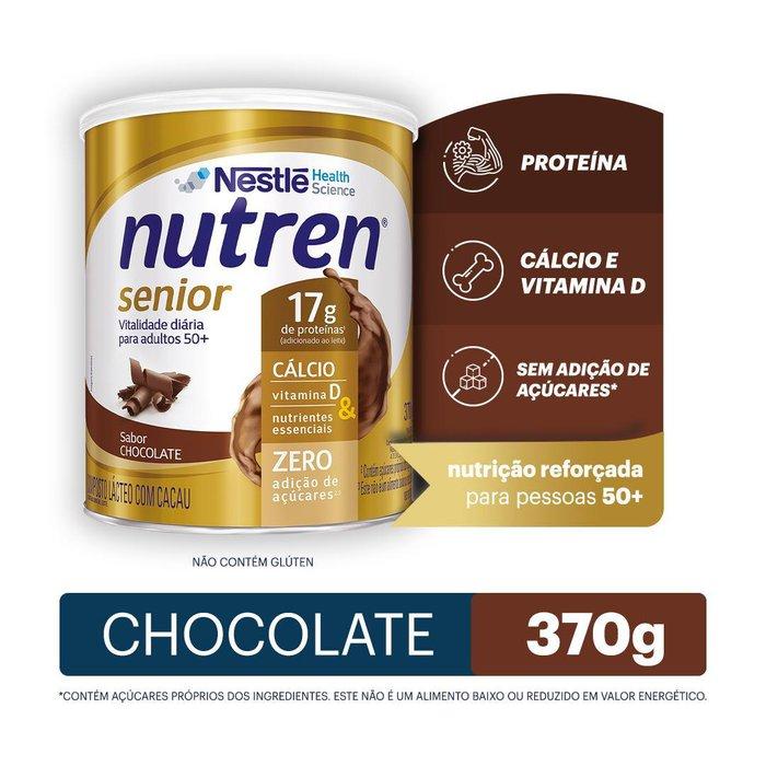 nutren senior nestle chocolate 370g