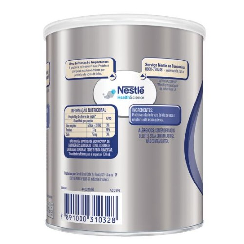nutren just protein lata 280 gr