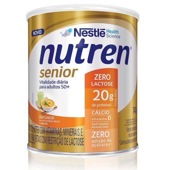 nutren senior zero lactose 740g